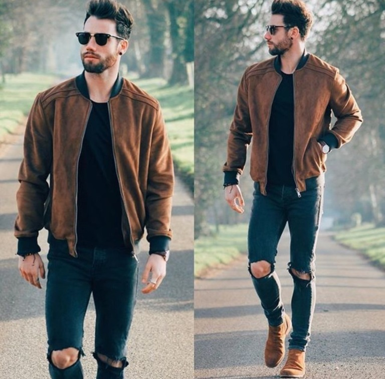 The Bomber Jacket: How to style menswear's transitional must-have01